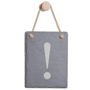 ! Engraved Slate Memo Board - Portrait