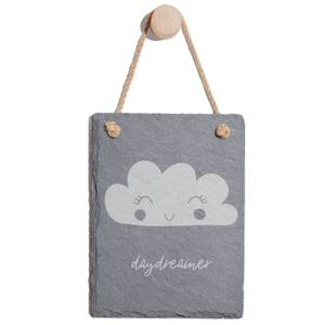 Daydreamer Engraved Slate Memo Board - Portrait