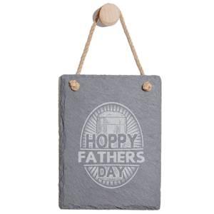 Hoppy Fathers Day Engraved Slate Memo Board - Portrait