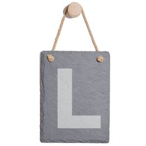 L Plates Engraved Slate Memo Board - Portrait