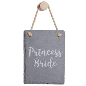 Princess Bride Engraved Slate Memo Board - Portrait