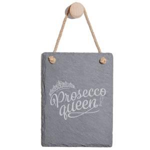Prosecco Queen Engraved Slate Memo Board - Portrait