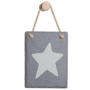 Star Engraved Slate Memo Board - Portrait