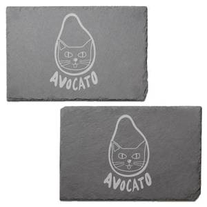 Avocato Engraved Slate Placemat - Set of 2