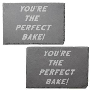You're The Perfect Bake Engraved Slate Placemat - Set of 2