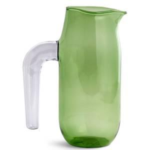 HAY Glass Jug 1 Litre - Green