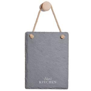 Nan's Kitchen Engraved Slate Memo Board - Portrait