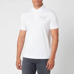 Armani Exchange Men's Eagle Logo Polo Shirt - White
