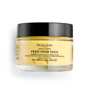 Revolution Skincare x Jake Jamie Coconut, Mango and Chia Seed Radiant Glow Face Mask 50ml