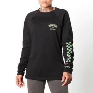 T-shirt à manches longues Tortues Ninja No Slice Left Behind unisexe - Noir