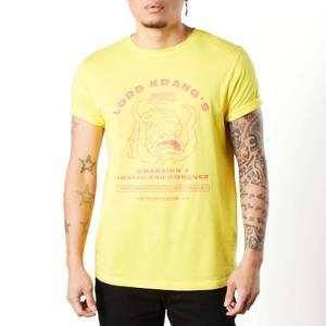 T-shirt Tortues Ninja Lord Krang unisexe - Jaune