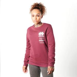 Teenage Mutant Ninja Turtles Bebop And Rocksteady Women's Sweatshirt - Burgundy
