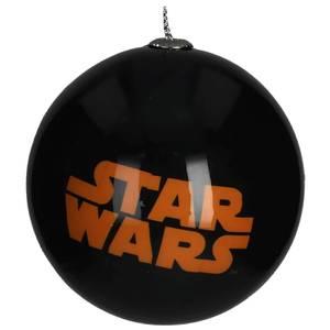 Star Wars Christmas Bauble - Orange Logo