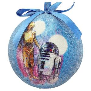 Star Wars Christmas Bauble - C 3PO and R2 D2