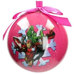 Marvel Christmas Bauble - Characters Snowflake