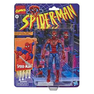 Hasbro Marvel Legends Retro Collection Spider-Man 6-Inch Scale Action Figure
