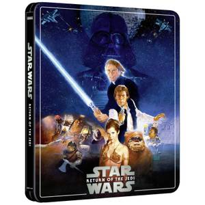 Star Wars Episode VI: Return of the Jedi - Zavvi Exclusive 4K Ultra HD Steelbook (3 Disc Edition includes Blu-ray)