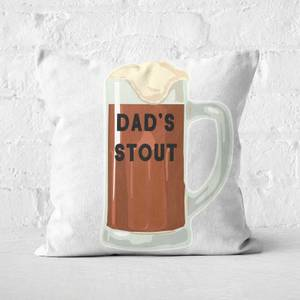 Dad's Stout Square Cushion