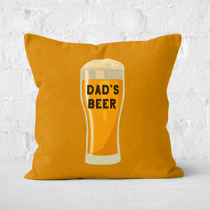 Dad's Beer Square Cushion