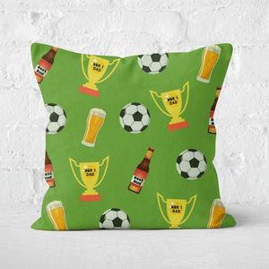 Football Fan Square Cushion