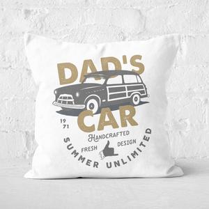 Dad's Car Square Cushion