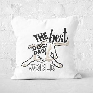 Dog Dad Square Cushion