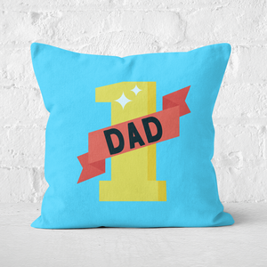 1 Dad Square Cushion