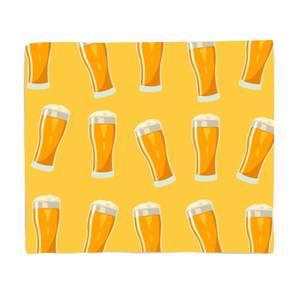 Beers Fleece Blanket