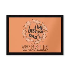 Best Fish Dad Entrance Mat