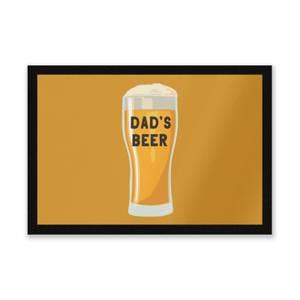 Dad's Beer Entrance Mat
