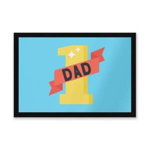 1 Dad Entrance Mat