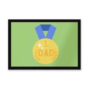Dad Medal Entrance Mat