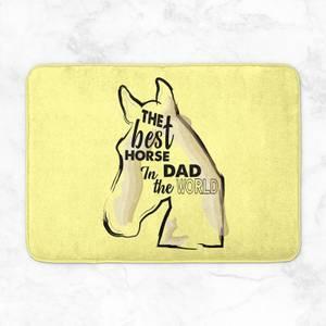 Horse Dad Bath Mat