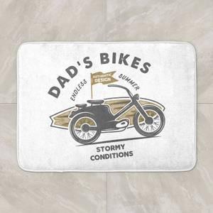 Dad's Bikes Bath Mat
