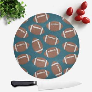 Rugby Round Chopping Board