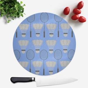 Badminton Round Chopping Board