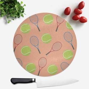 Tennis Round Chopping Board