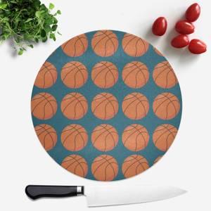 Basketball Round Chopping Board