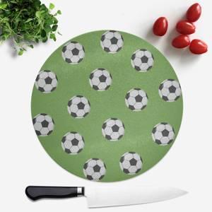 Football Round Chopping Board