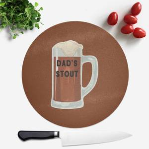 Dad's Stout Round Chopping Board