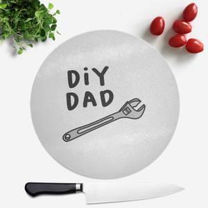 DIY Dad Round Chopping Board