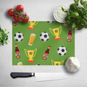 Football Fan Chopping Board