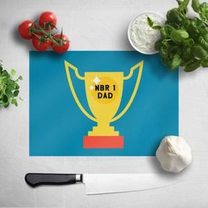 Nbr 1 Dad Cup Chopping Board