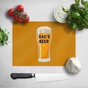 Dad's Beer Chopping Board