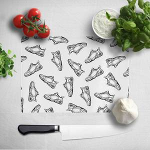 Dad Trainers Chopping Board