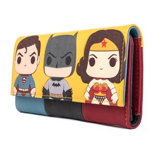Loungefly DC Comics Pop Trio Wallet