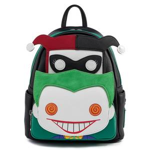 Loungefly DC Comics Pop Harley And Joker Mini Backpack