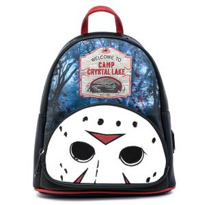 Loungefly Friday The 13Th Camp Crystal Lake Mini Backpack