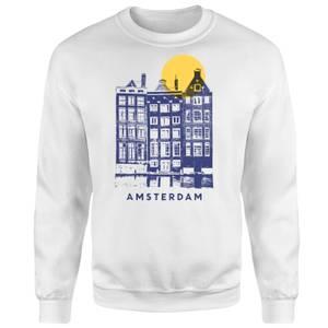 Amsterdam Sweatshirt - White