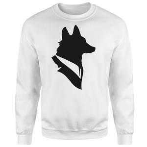 Mr Fox Sweatshirt - White